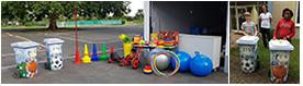 Neue Spiele-Garage für die Fritz-Erler-Schule Nieder-Wöllstadt